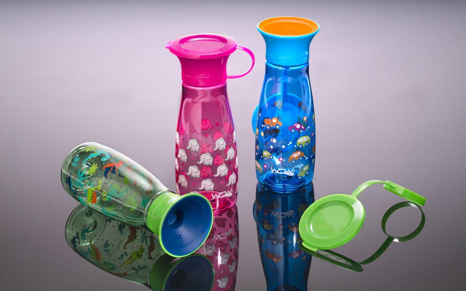 Wow Cup i tre forskjellige farger